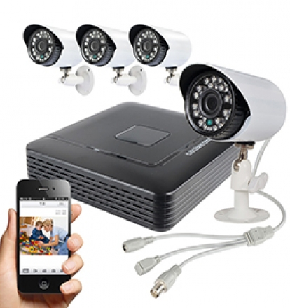 Digital surveillance IP network cameras system