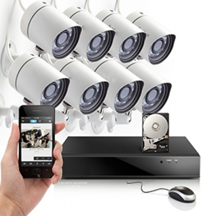 Network IP cameras system installation los angeles