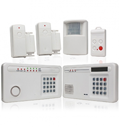 los angeles wireless security system installer